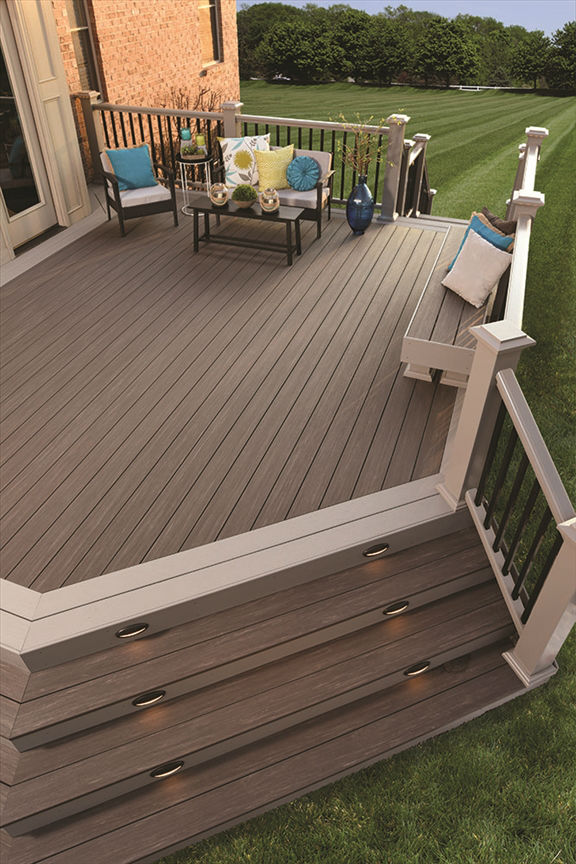 A Quality Deck Just In Time For Spring United Building